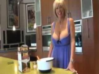 Kitchen mature granny