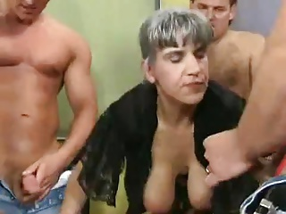 Free HD Granny Tube GangBang